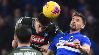 Футболист на Сампдория: Ние поне не крием заразените си футболисти...