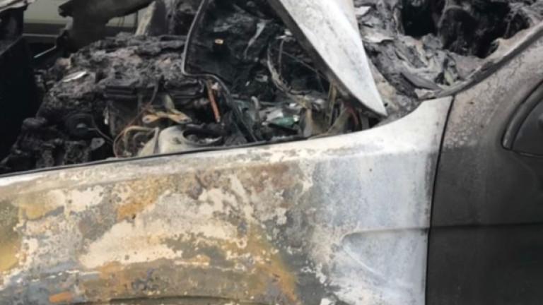Подпалена е кола на разследващ полицай в София