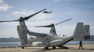 Американски военен самолет се разби в Сирия