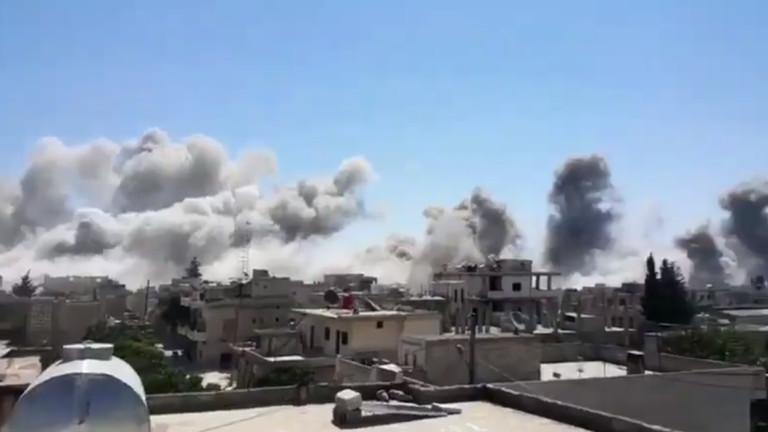Сирийски бунтовници обвиняват Русия за 31 загинали при въздушни удари в Идлиб