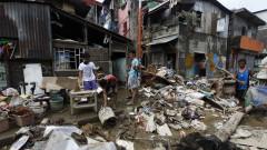 Хиляди засегнати от поредния тайфун във Филипините