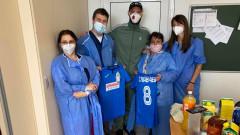 Симеон Славчев с трогателно послание към медиците, грижили се за него в ковид отделението