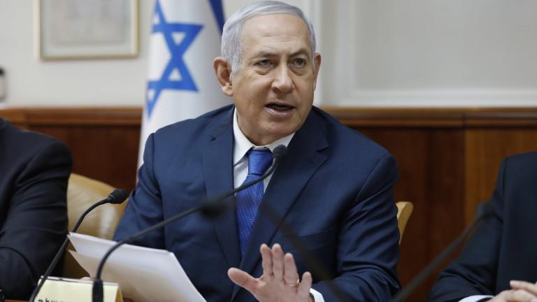Премиерът на Израел Бенямин Нетаняху заяви, че ливанската групировка