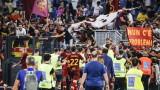 """Рома победи Сасуоло с 2:1 в Серия """"А"""""""