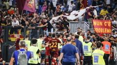 Рома загря за ЦСКА с изстрадана победа