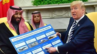 Регионалните конфликти обсъди Тръмп със саудитския престолонаследник