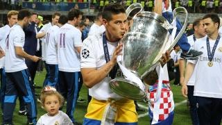 Хамес реши - ще търка пейката на Реал и през новия сезон