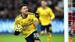 Арсенал обърна Уест Хем за 9 минути и гарантира временно спокойствие на Люнгберг