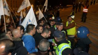 Хиляди португалски полицаи излязоха на протест срещу кабинета