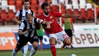ЦСКА - Локомотив (Пловдив) 4:1 (Развой на срещата по минути)