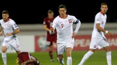 Левандовски донесе победата на Полша над Латвия