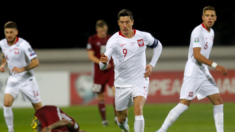 Полша победи с 3:0 Латвия като гост в квалификация за