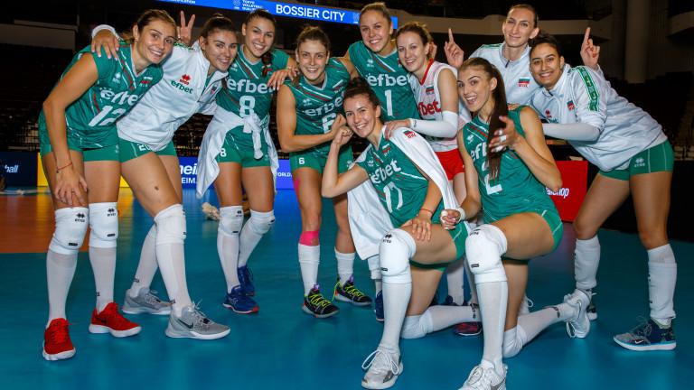 Дамският нционлен отбор по волейбол завърши с победа участието си