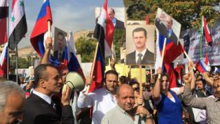 Две ракети удариха посолството на Русия в Дамаск
