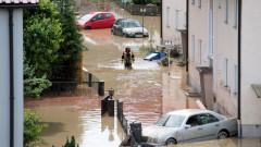 След жегите, наводнения и във Франция