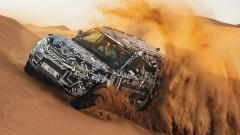 Тестват новия Land Rover Defender в екстремни условия (Видео)