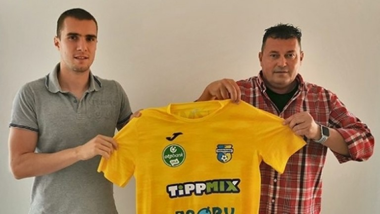 Антонио Вутов подписа договор за три години с унгарския първодивизионен