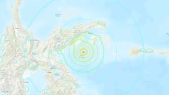 Земетресение от 6.8 по Рихтер в Индонезия,  вероятност от цунами