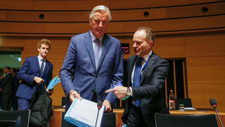 Главният преговарящ на ЕС за Брекзит Мишел Барние е наложил