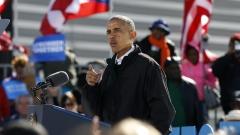 Обама: Гласувайте за Клинтън
