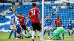 Манчестър Юнайтед победи Брайтън с 3:2