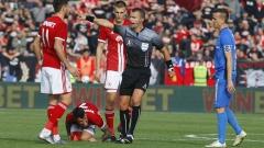 Официално: Ивайло Стоянов ще свири сблъсъка ЦСКА - Левски