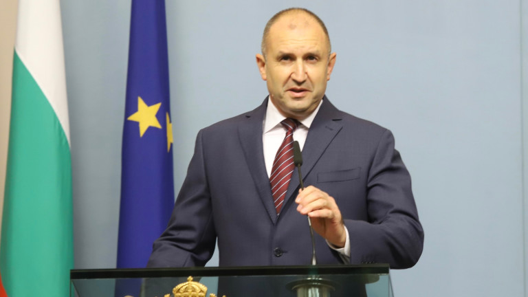 Президентът Румен Радев смята, че протестът е общонационален. Хора от