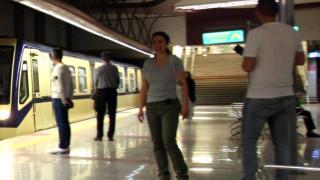 Задръстване с мотриси на метростанция СУ в столицата