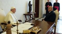Борисов подарява кисело мляко на папата