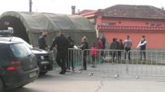 В ромския квартал в Ямбол протестират заради продължаващата блокада