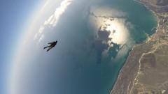Военни летяха с парашут на 4000 метра височина