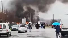 Жертви след взрив на бензиностанция до границата между Сърбия и Босна