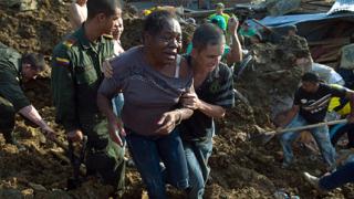 Стотици изчезнаха след свлачище в Колумбия