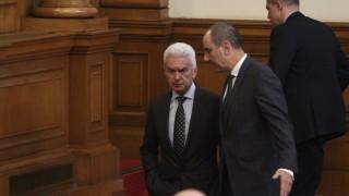 Сидеров: Отношенията в малката коалиция трябва да се решават по мъжки