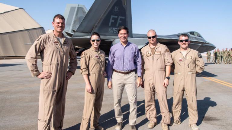Министърът на отбраната на САЩ Марк Еспер пристигна в Багдад,
