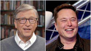 Подцени ли Бил Гейтс Илон Мъск
