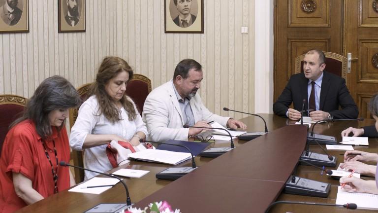 "Президентът Радев защити ""Радио България"""