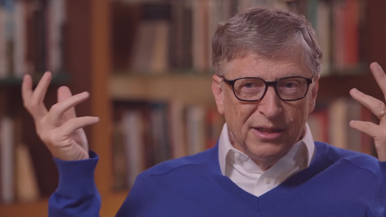 Най-богатият човек в света Бил Гейтс, който вероятно ще си