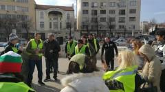 30 души на протест в София искат пряка демокрация