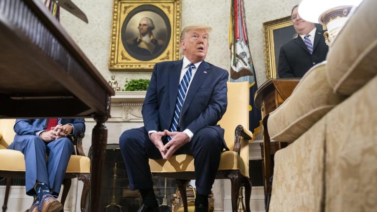 Тръмп спрял атаката срещу Иран 10 минути преди започването ѝ