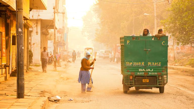 Снимка: Ню Делхи е столицата с най-мръсен въздух в света през 2018 г.