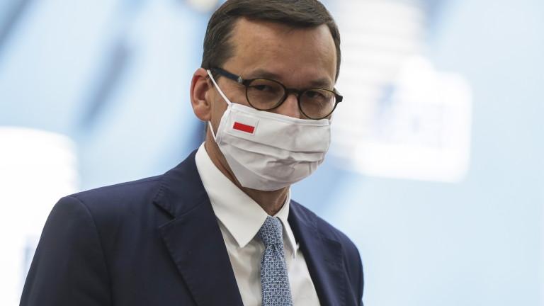 Полският премиер под карантина след контакт с болен от коронавирус