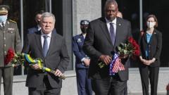 Шефът на Пентагона: Русия не може да блокира стремежите на Украйна към НАТО