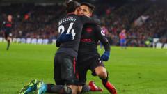 Арсенал взе драматично лондонския сблъсък с Кристъл Палас, Венгер изравни рекорд на Сър Алекс (ВИДЕО)
