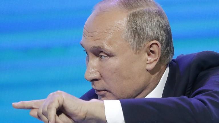 Путин уволни 7 губернатори за 10 дни