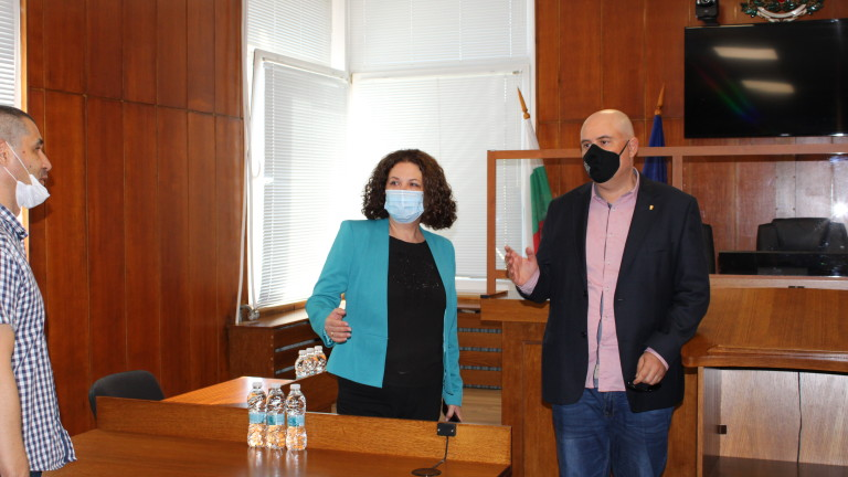 Главният прокурор Иван Гешев продължава с обиколката си по апелативните