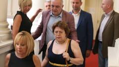 Мая Манолова чу имената на министрите и млъкна