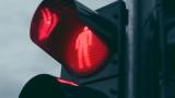 Светофар падна на централно столично кръстовище