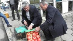 Спряхме над 22 тона гръцки плодове и зеленчуци