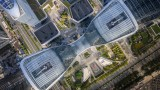 Мегаапроект: Шест свързани помежду си небостъргача в Китай